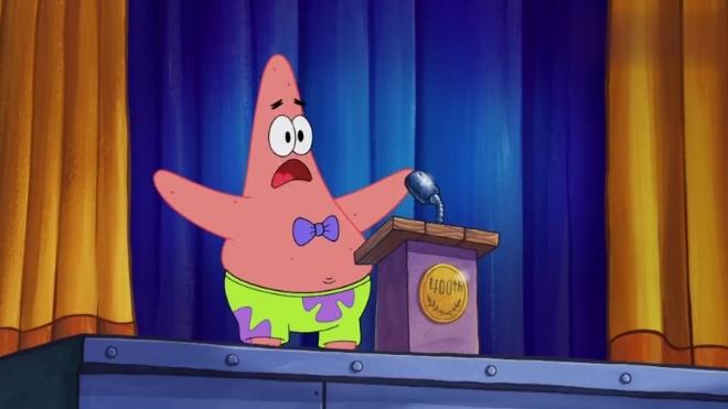 《海绵宝宝》蟹老板加入了海绵宝宝和派大星,他们同穿一条裤子!