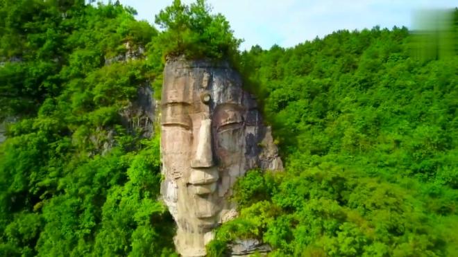 贵阳下水大佛 比乐山大佛头部还高4米 被誉为世界第一大自然石佛
